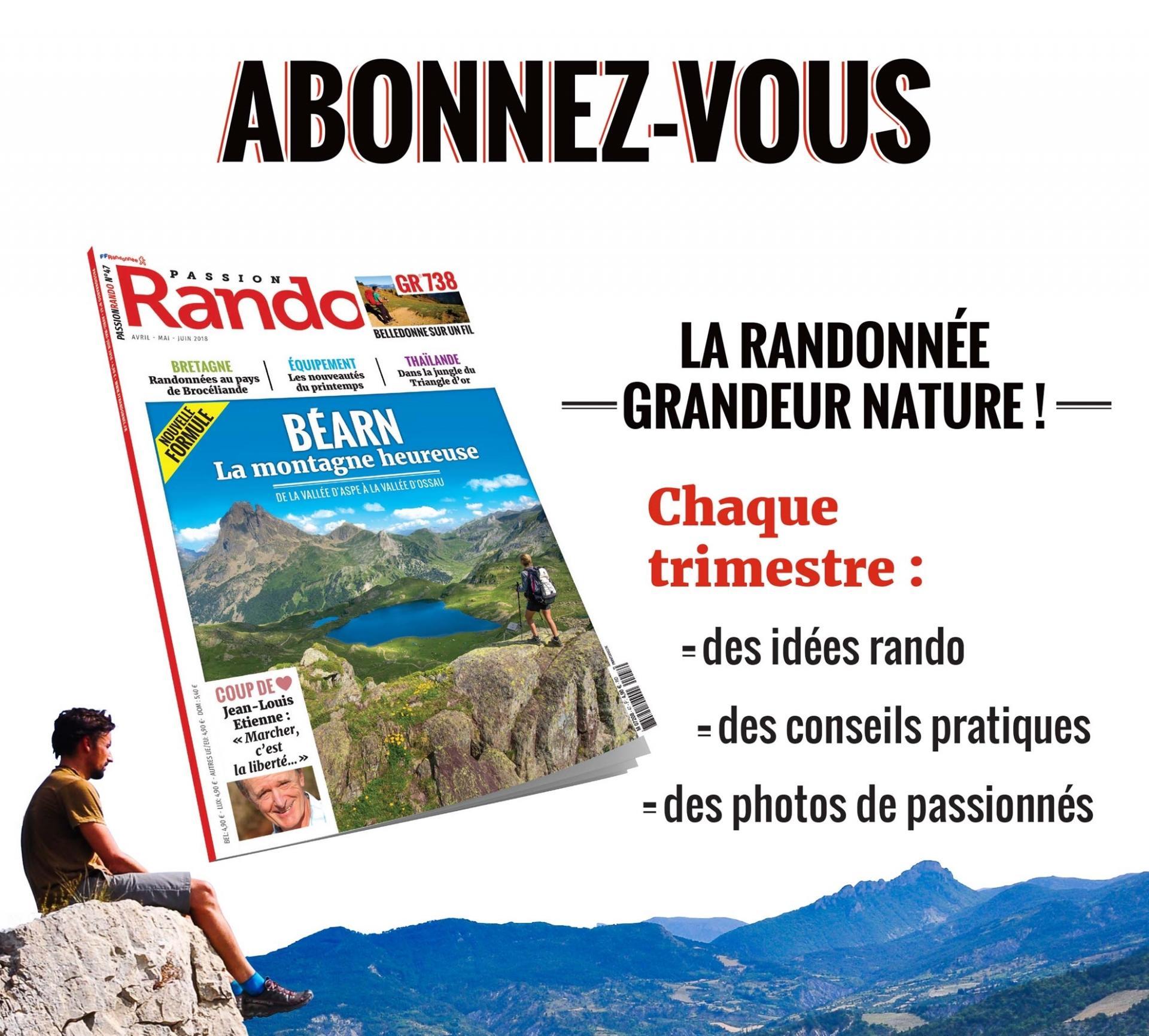 0001994 magazine passion rando abonnement